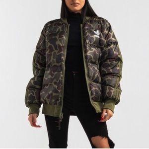 Adidas originals x Pharrell Williams Camo jacket